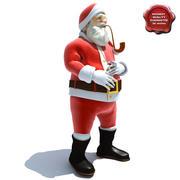 Santa Claus Pose1 3d model