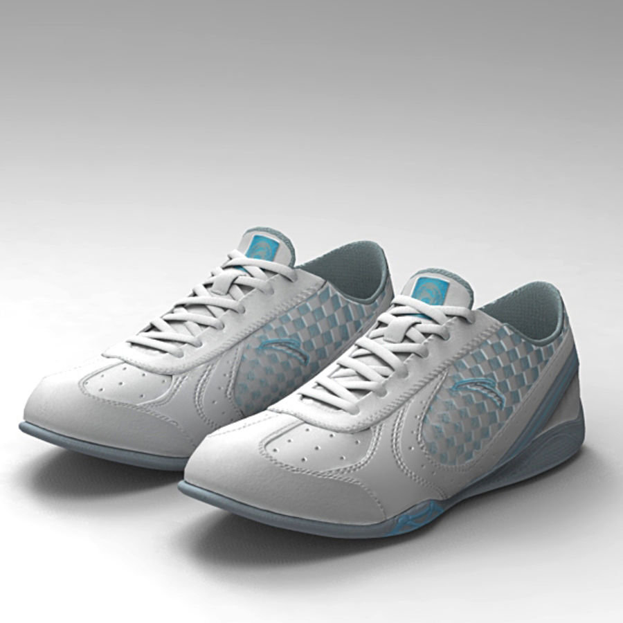 Running_shoes royalty-free 3d model - Preview no. 1