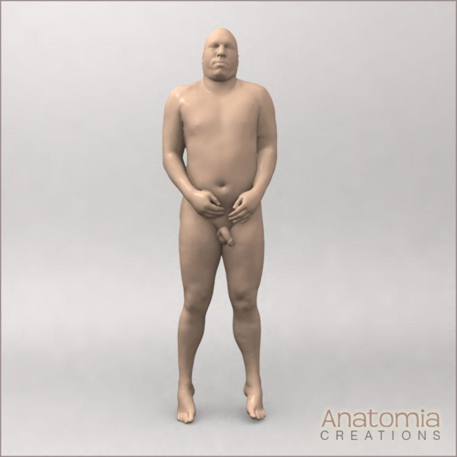 Pele masculina visível royalty-free 3d model - Preview no. 5