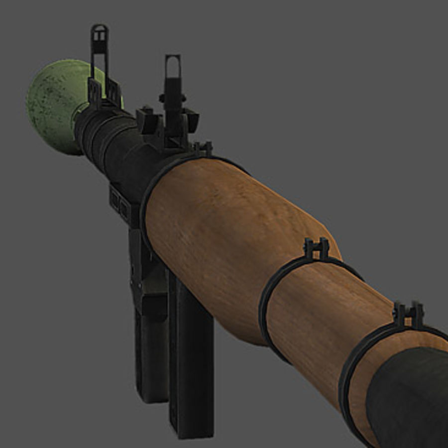 RPG-7 royalty-free modelo 3d - Preview no. 5