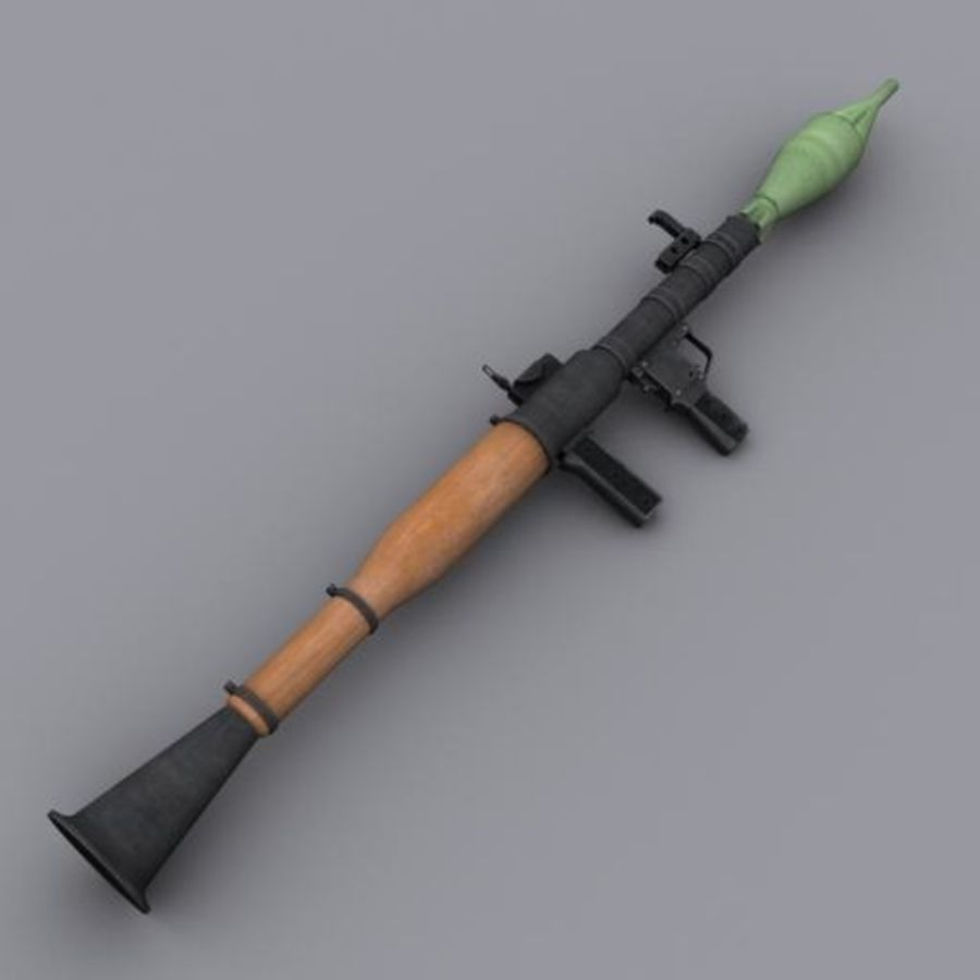 RPG-7 royalty-free modelo 3d - Preview no. 1