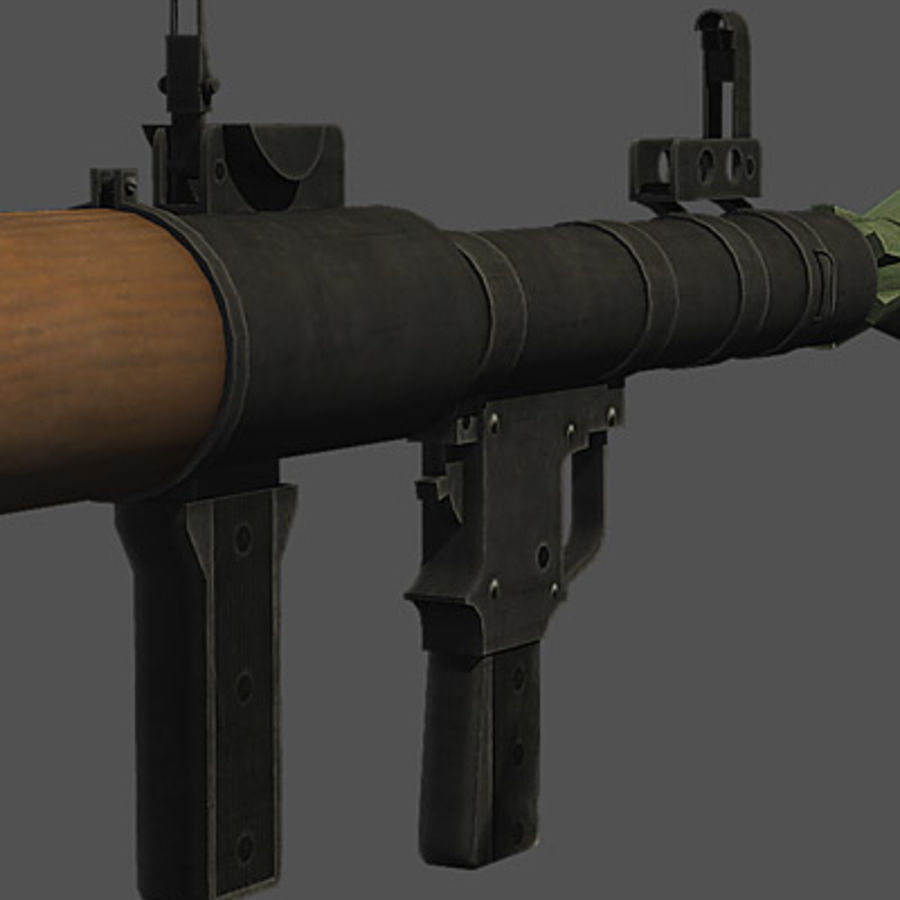 RPG-7 royalty-free modelo 3d - Preview no. 4