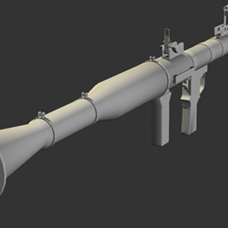 RPG-7 royalty-free modelo 3d - Preview no. 6