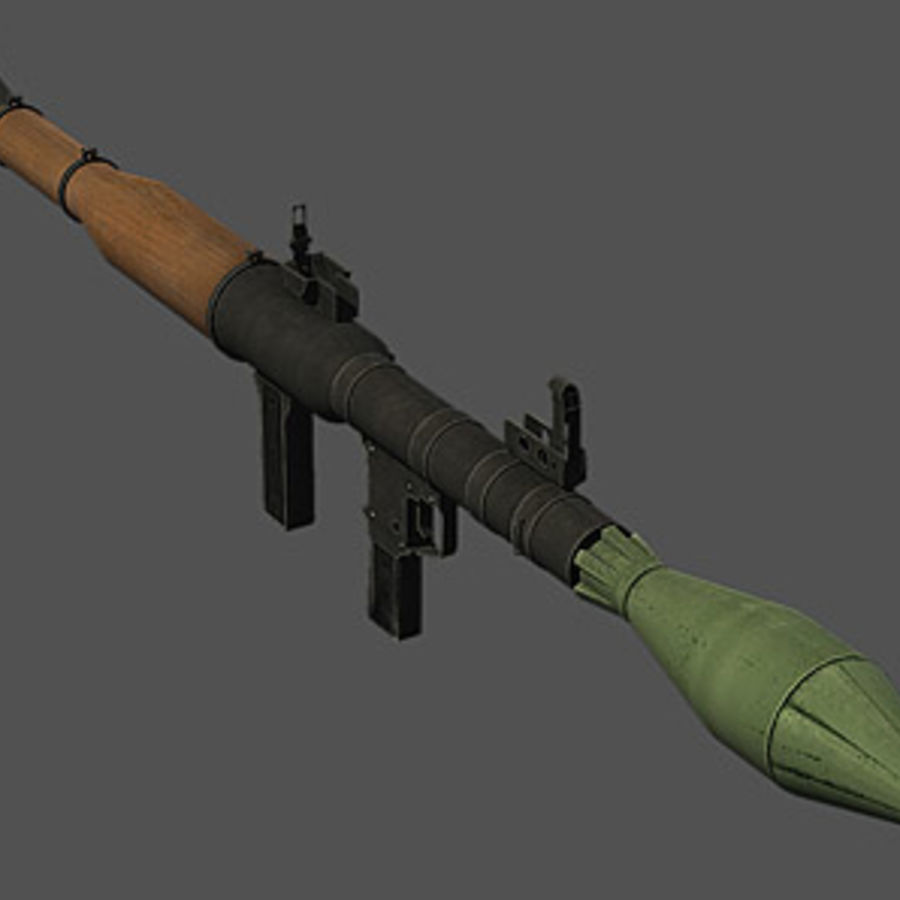 RPG-7 royalty-free modelo 3d - Preview no. 2