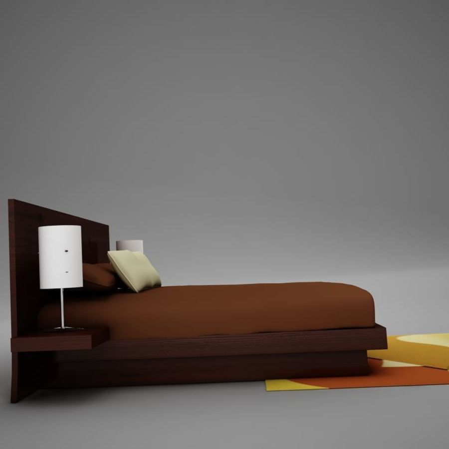 bed04.zip royalty-free 3d model - Preview no. 8