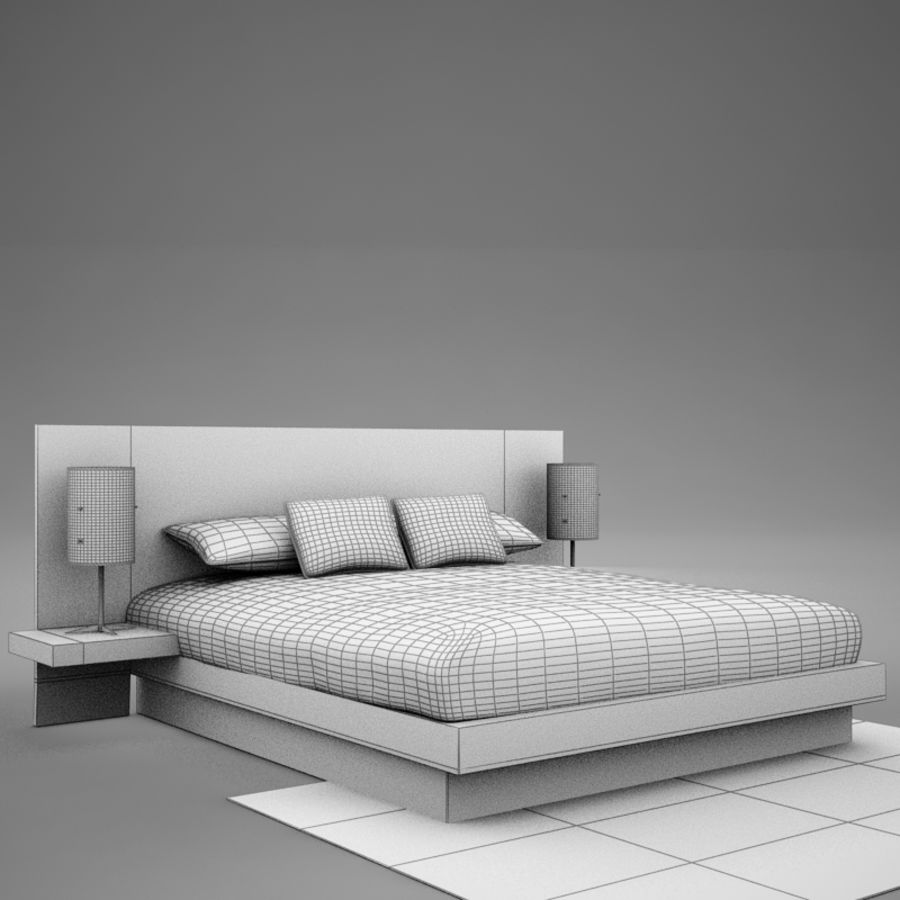 bed04.zip royalty-free 3d model - Preview no. 13