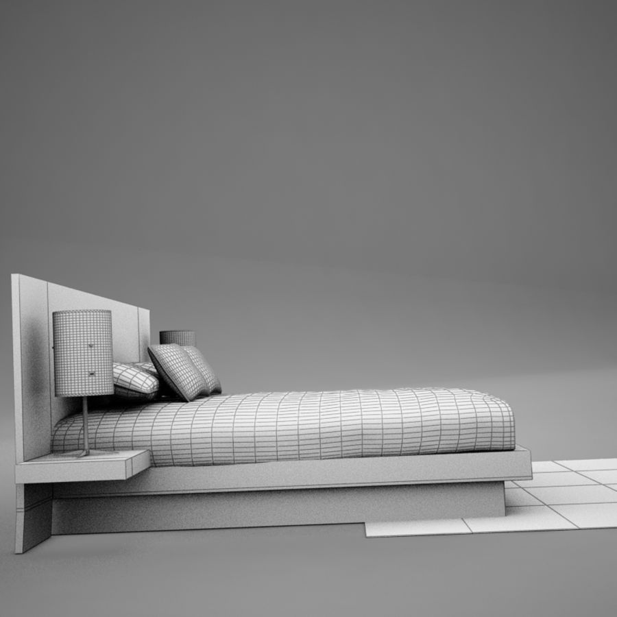 bed04.zip royalty-free 3d model - Preview no. 16