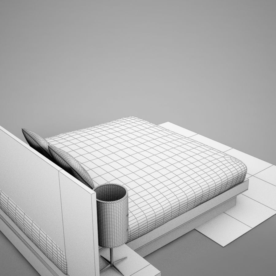 bed04.zip royalty-free 3d model - Preview no. 18