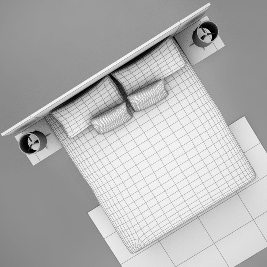 bed04.zip royalty-free 3d model - Preview no. 14