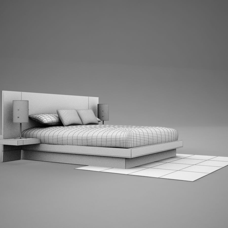 bed04.zip royalty-free 3d model - Preview no. 11