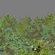 Lowpoly - Rośliny - 2 3d model