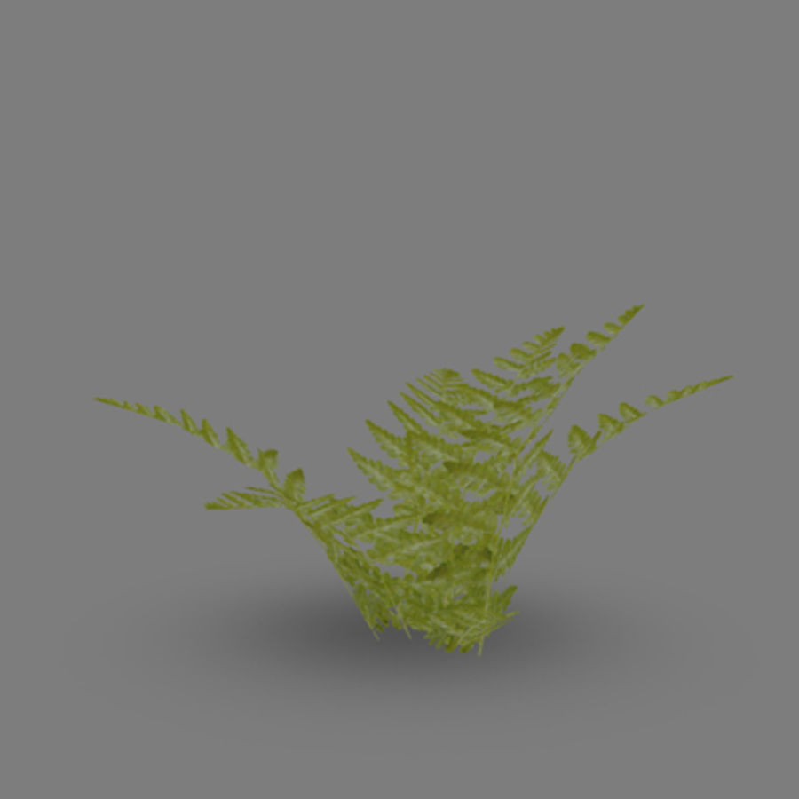Lowpoly - Plants - 2 royalty-free 3d model - Preview no. 7