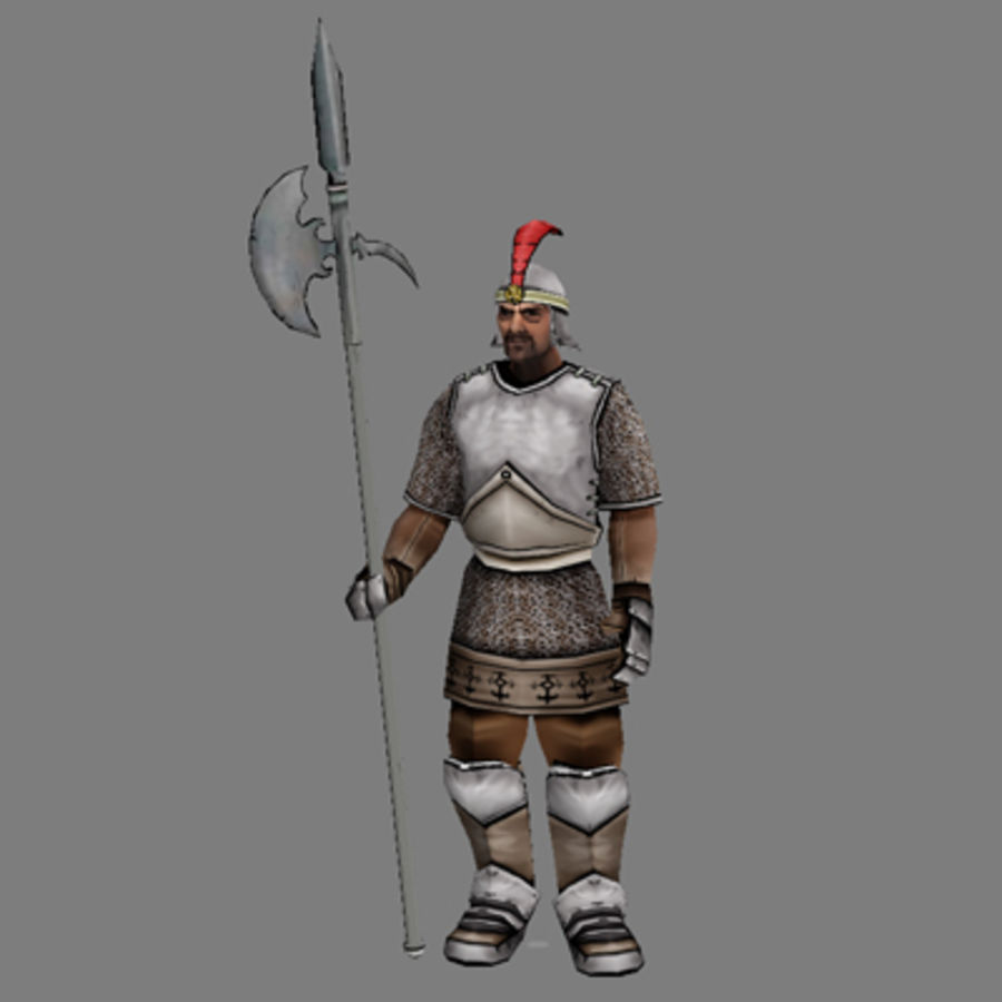 Lowpoly - Human Male - 4 royalty-free 3d model - Preview no. 7