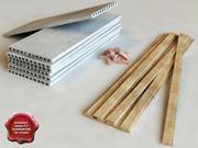 LowPoly building materials 3d model