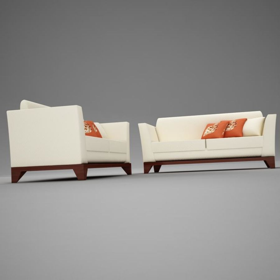 couches files.zip royalty-free 3d model - Preview no. 4
