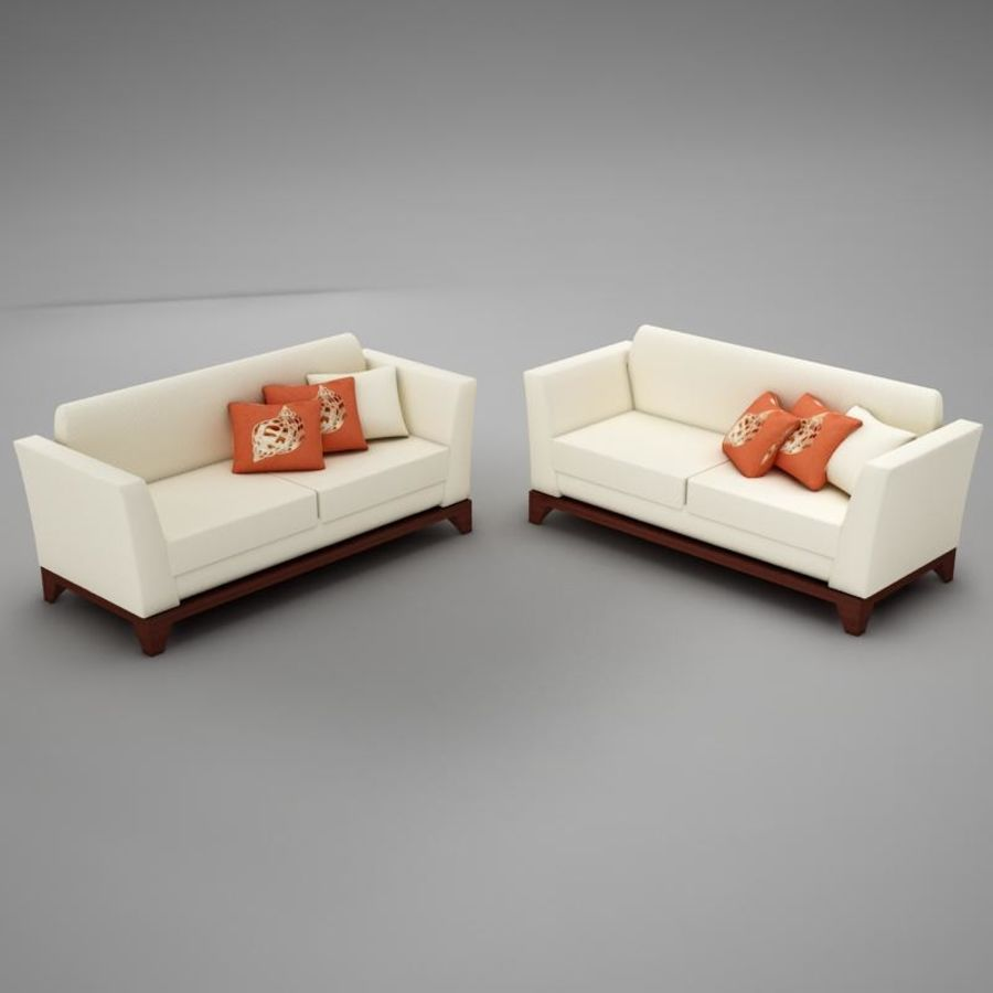 couches files.zip royalty-free 3d model - Preview no. 6