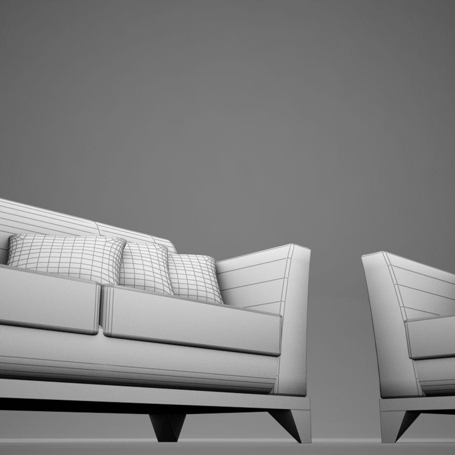 couches files.zip royalty-free 3d model - Preview no. 16
