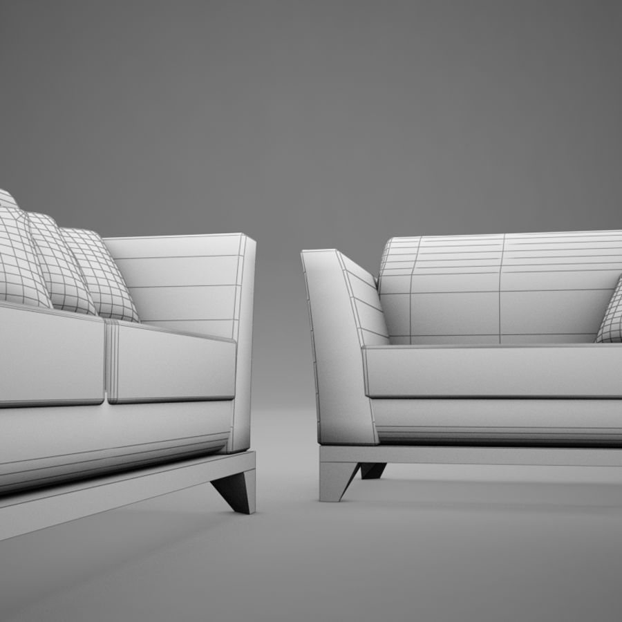 couches files.zip royalty-free 3d model - Preview no. 14