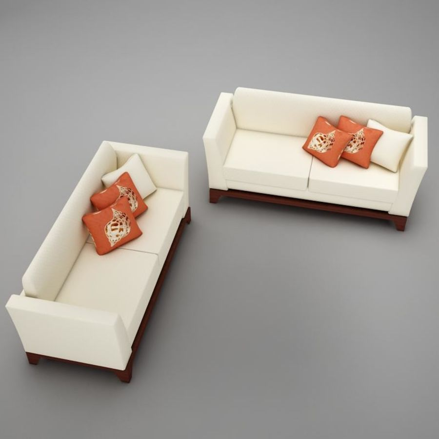 couches files.zip royalty-free 3d model - Preview no. 8