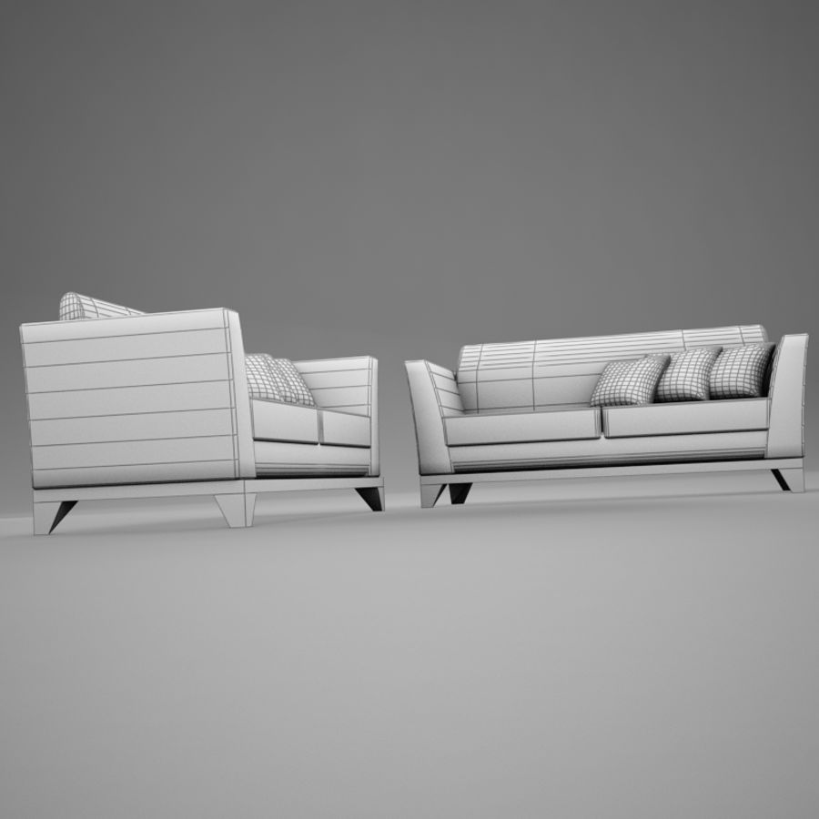 couches files.zip royalty-free 3d model - Preview no. 13