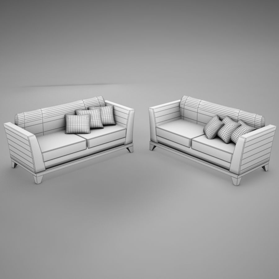 couches files.zip royalty-free 3d model - Preview no. 11