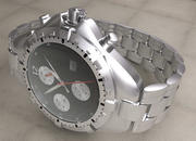 Wrist Watch - divers - sports 3d model