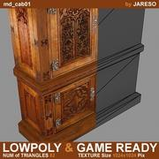 Lowpoly cabinet - md_cab01.rar 3d model