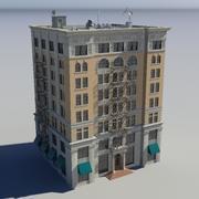 Byggnad - 6 3d model