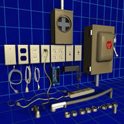 Electrical Supplies 01 Collection 3d model