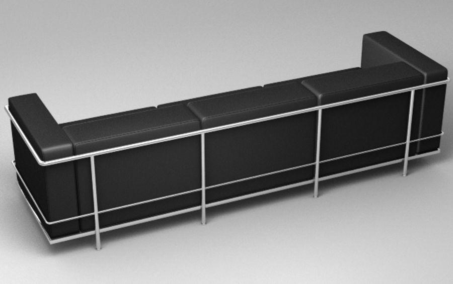 Coleção Cassina LC3 royalty-free 3d model - Preview no. 6