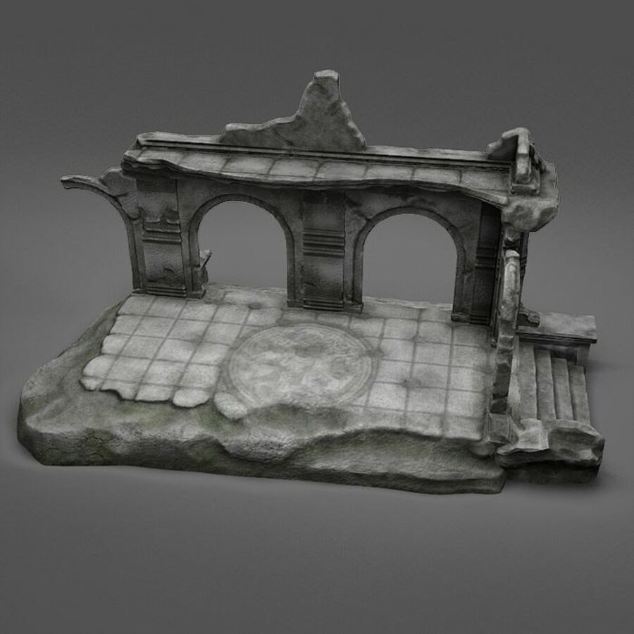 Ruin A royalty-free 3d model - Preview no. 7