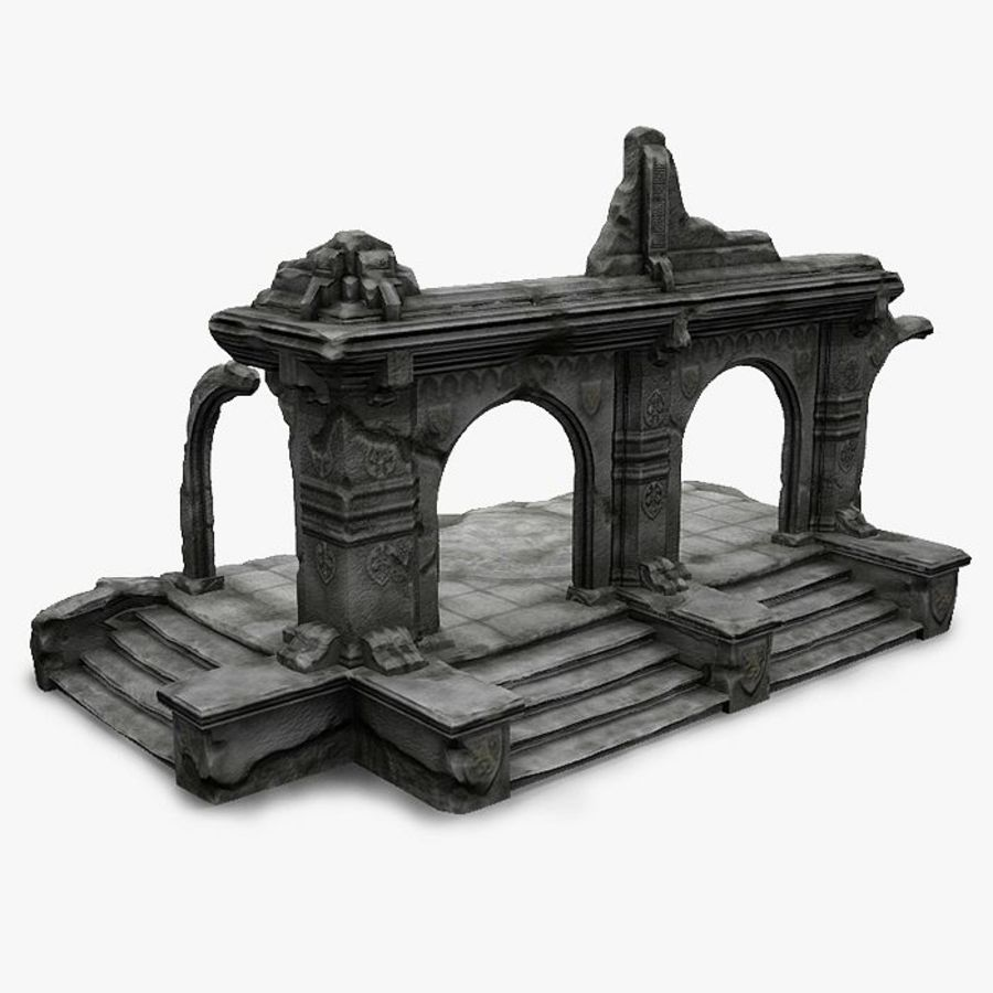 Ruin A royalty-free 3d model - Preview no. 1