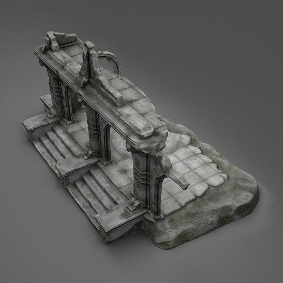 Ruin A royalty-free 3d model - Preview no. 5