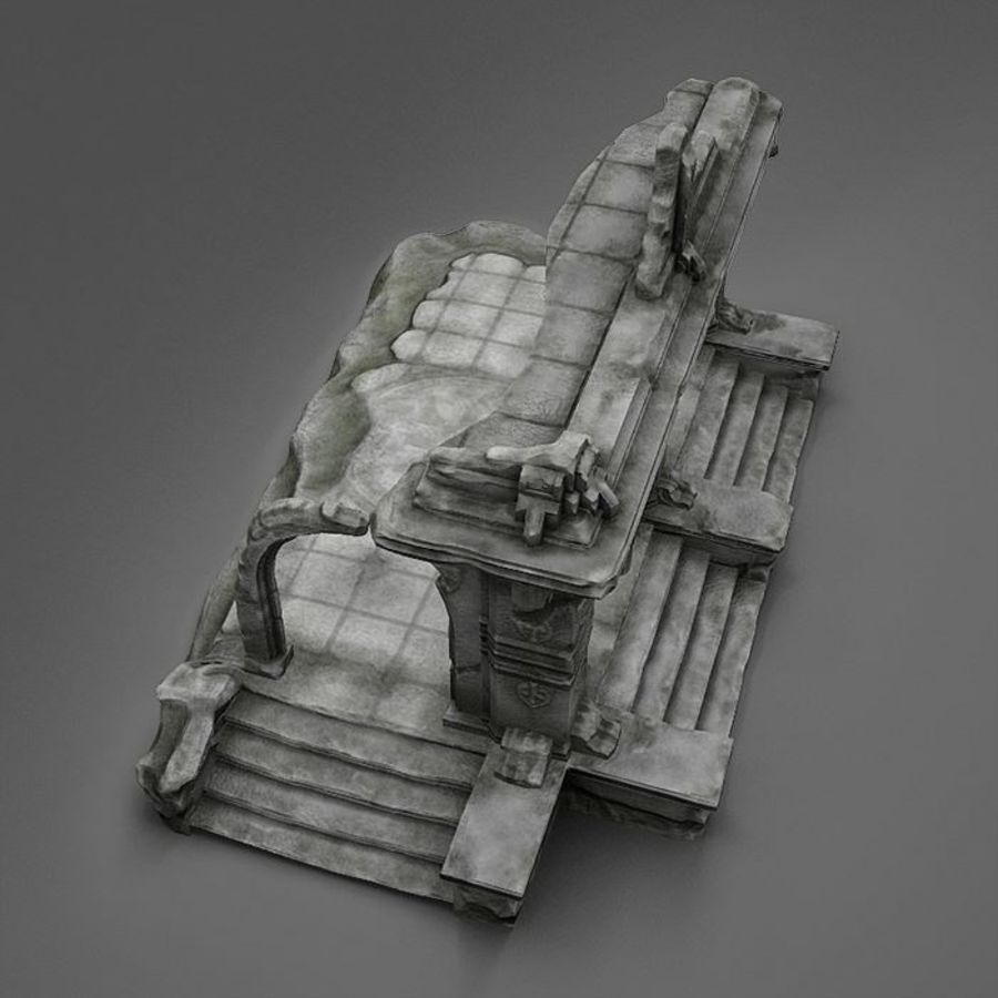 Ruin A royalty-free 3d model - Preview no. 9