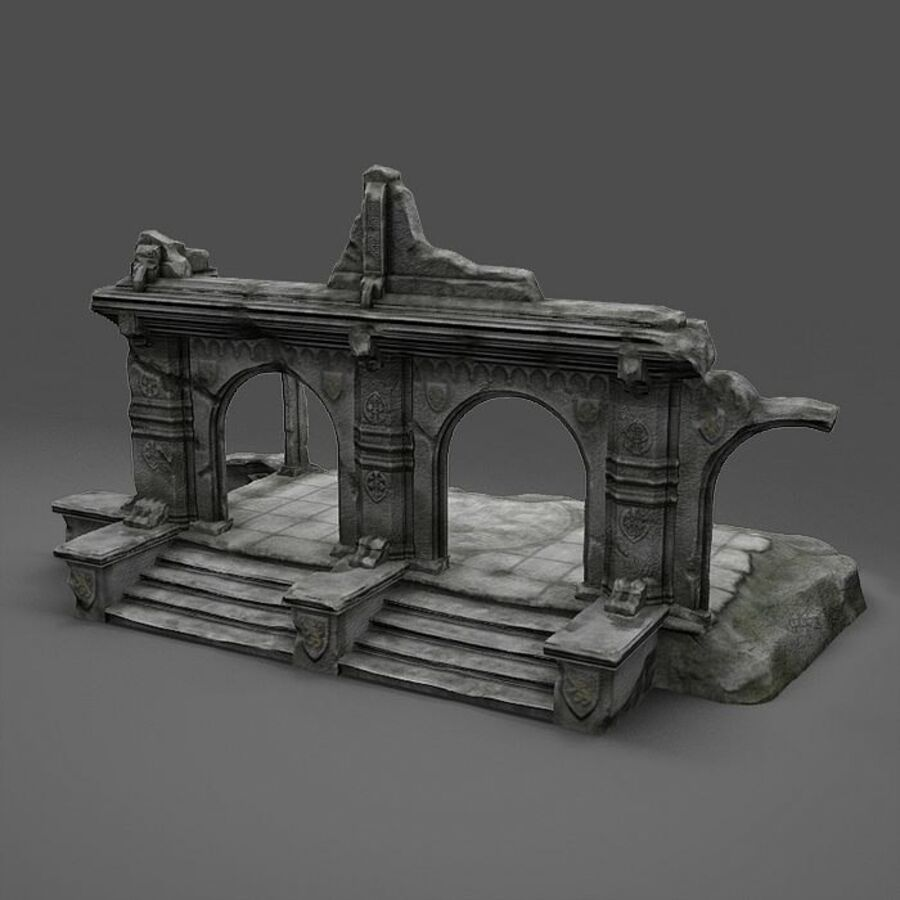 Ruin A royalty-free 3d model - Preview no. 4