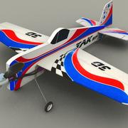 Yak RC model aircraft 3d model