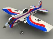 Yak RC model uçak 3d model