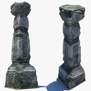 damaged Pillar 3d model