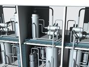 Industrial unit 2 3d model