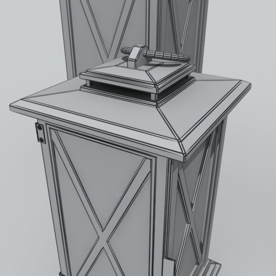 candle_boxes royalty-free 3d model - Preview no. 3