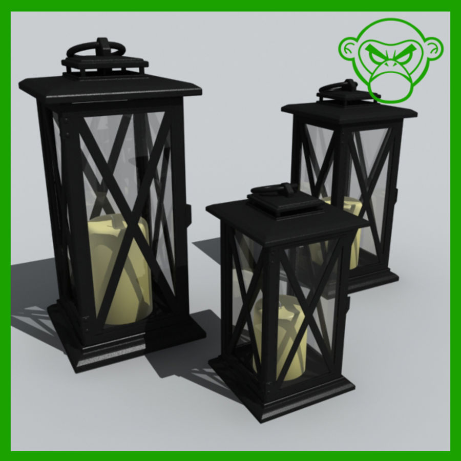 candle_boxes royalty-free 3d model - Preview no. 1