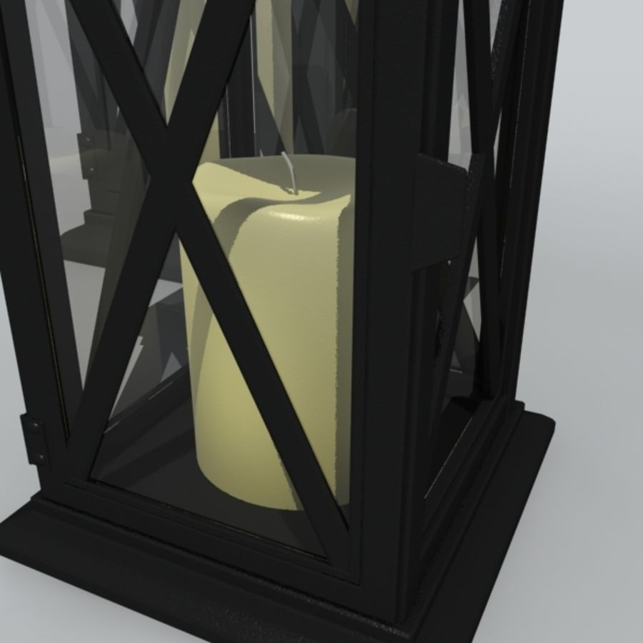 candle_boxes royalty-free 3d model - Preview no. 4