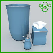 bathroom stuff 3d model