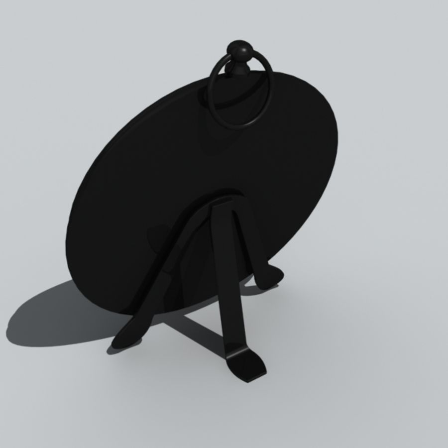 clock royalty-free 3d model - Preview no. 4