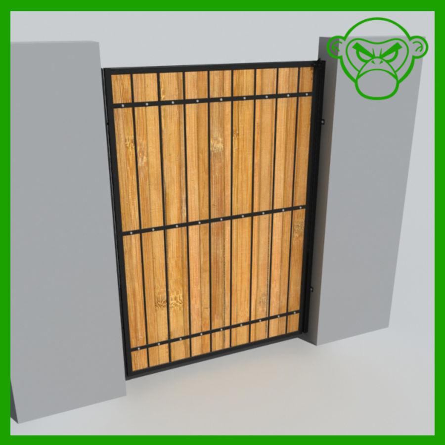 gate royalty-free 3d model - Preview no. 1