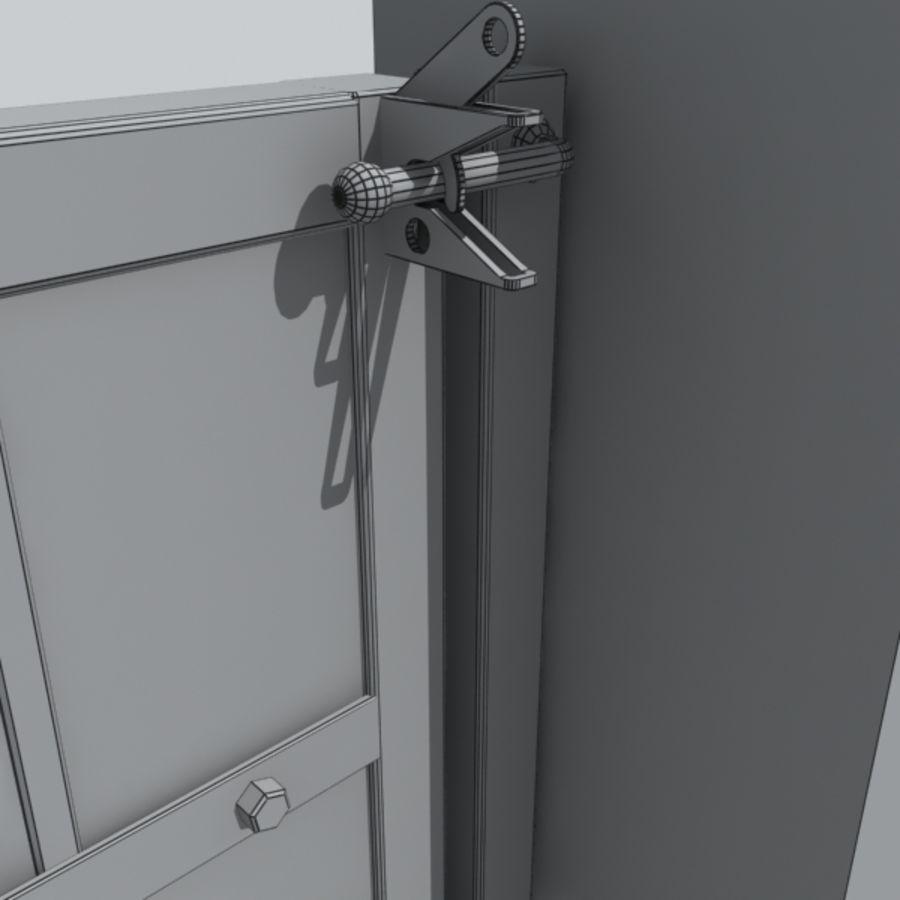 gate royalty-free 3d model - Preview no. 3