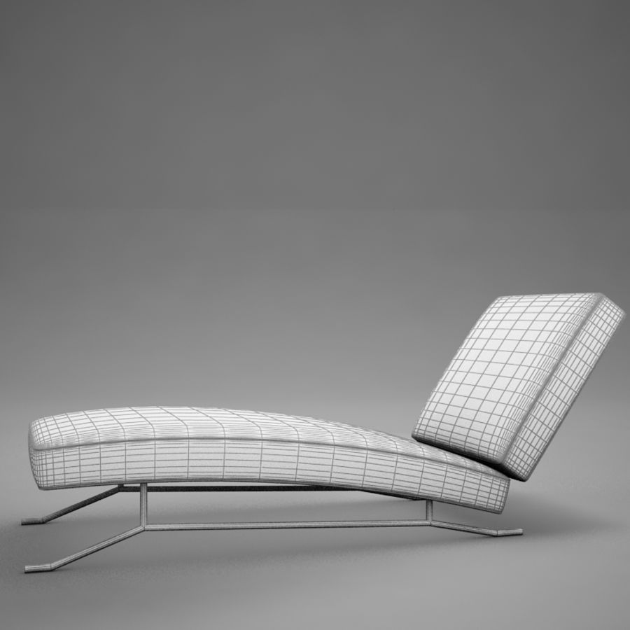 lounge chair02 royalty-free 3d model - Preview no. 13