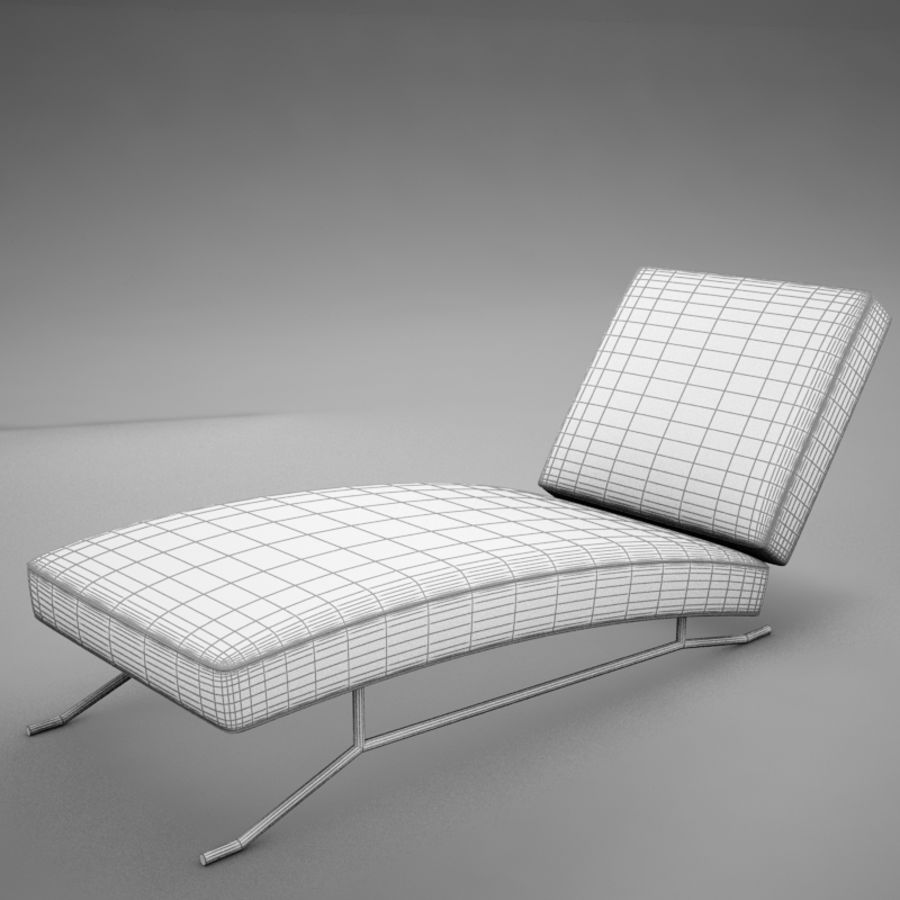 lounge chair02 royalty-free 3d model - Preview no. 15