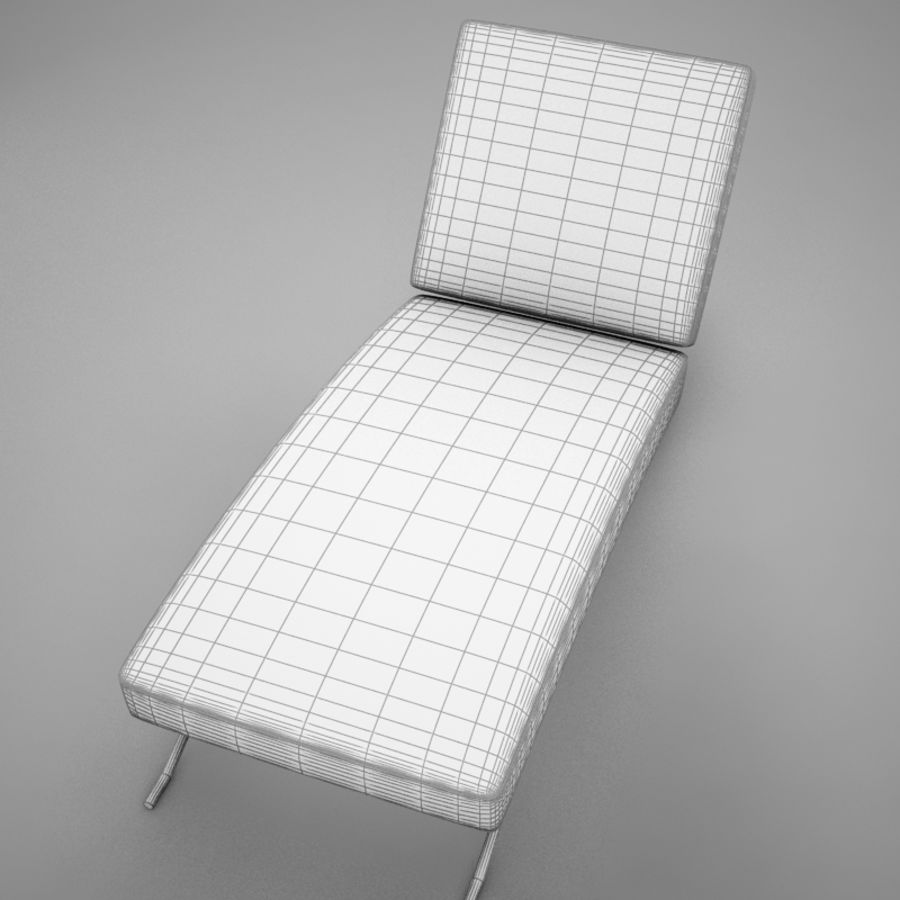 lounge chair02 royalty-free 3d model - Preview no. 20