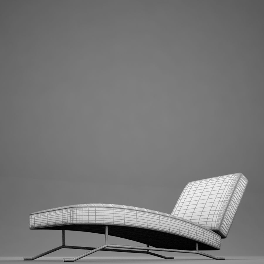 lounge chair02 royalty-free 3d model - Preview no. 19